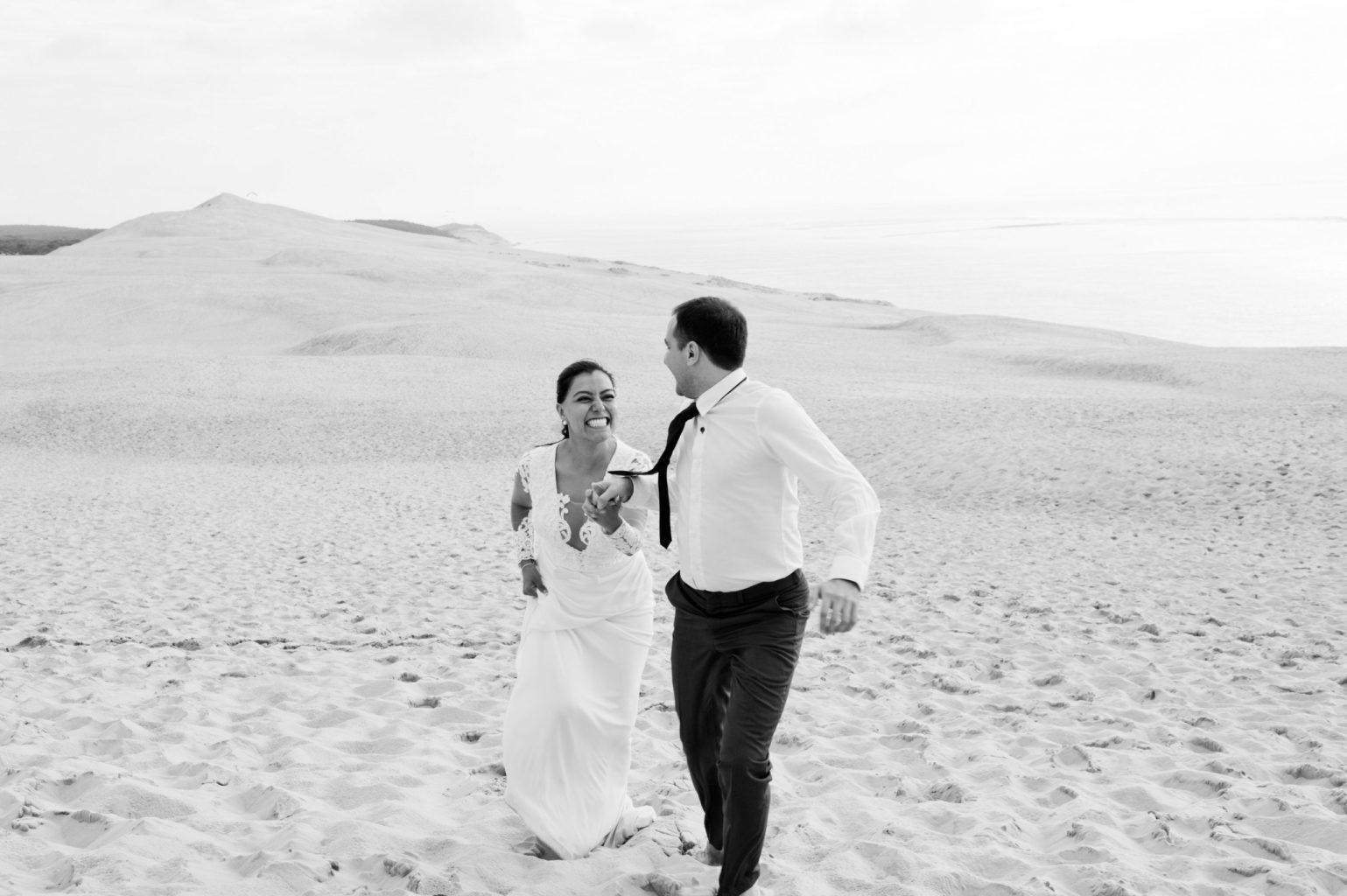 La séance photo DayAfter d'Esther & Guillaume sur la Dune du Pilat