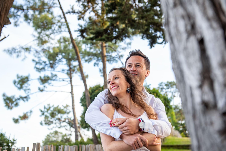 La séance photo de Justine & David au Cap Ferret